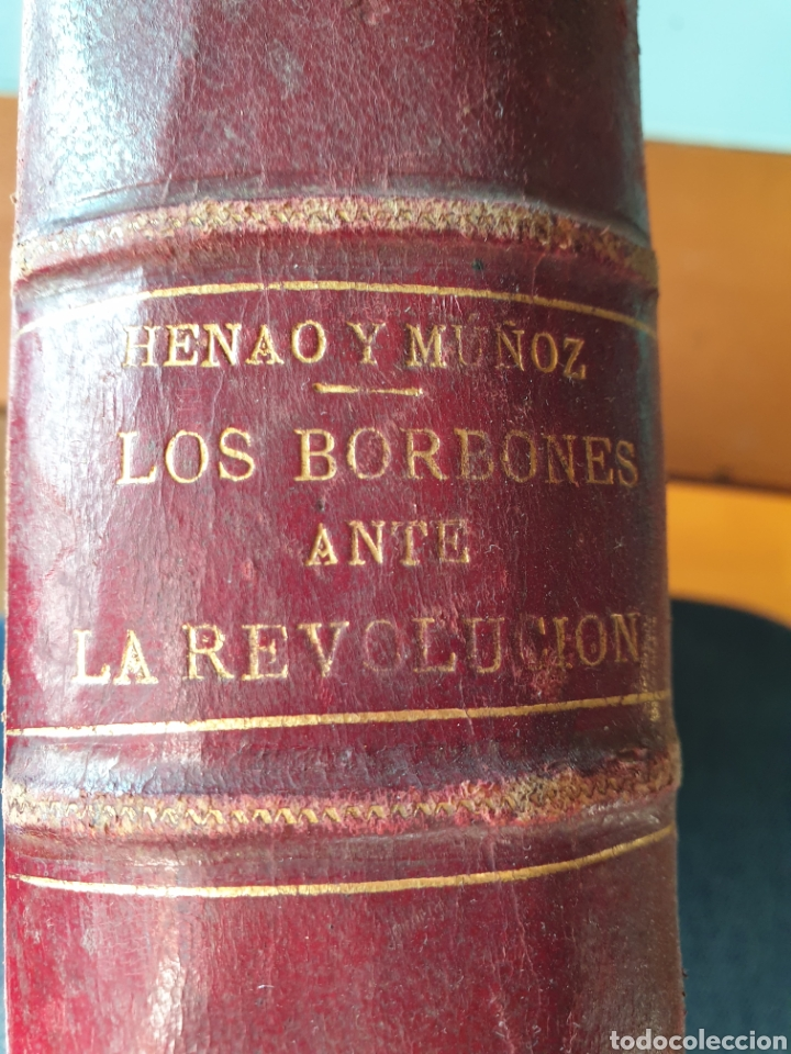 LOS BORBONES ANTE LA REVOLUCIÓN 1870 (Libros Antiguos, Raros y Curiosos - Biografías )
