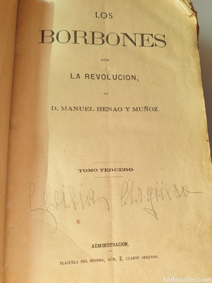 Libros antiguos: Los borbones ante la revolución 1870 - Foto 4 - 288611488