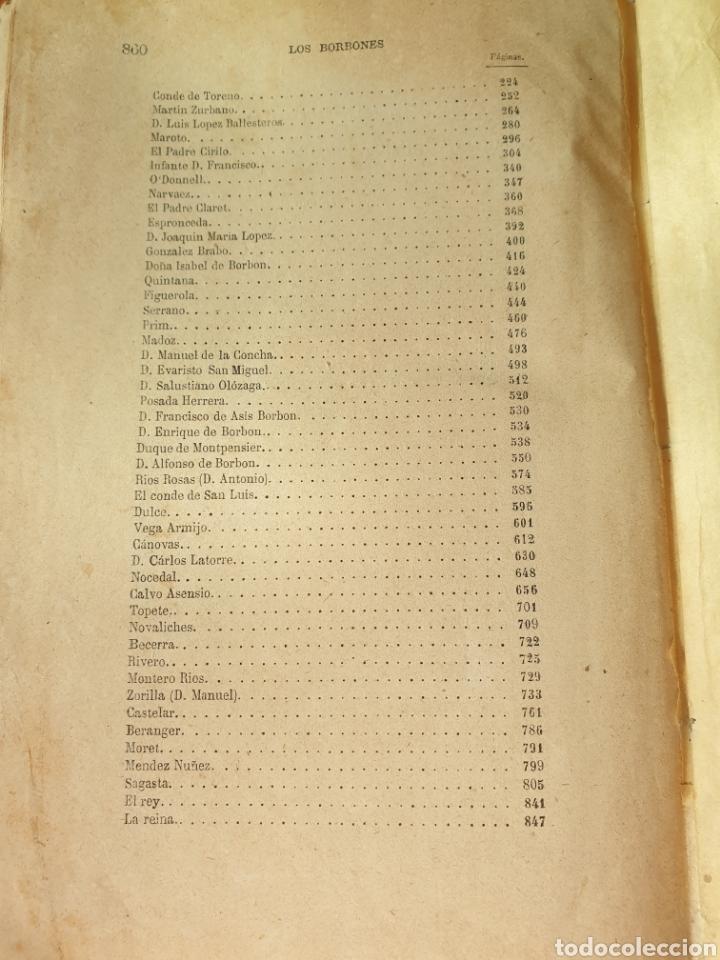 Libros antiguos: Los borbones ante la revolución 1870 - Foto 5 - 288611488