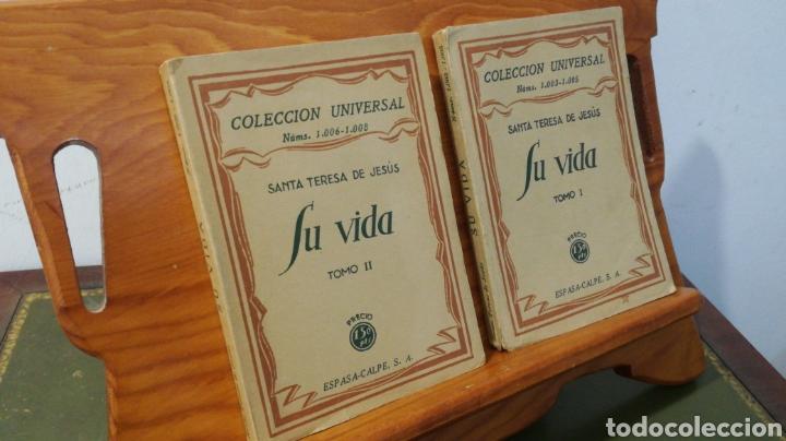 Libros antiguos: SANTA TERESA DE JESUS ~ COLECCION UNIVERSAL ~ ESPASA CALPE - TOMOS 1 y 2 - Foto 2 - 288959798