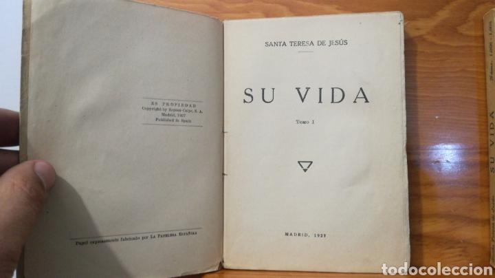 Libros antiguos: SANTA TERESA DE JESUS ~ COLECCION UNIVERSAL ~ ESPASA CALPE - TOMOS 1 y 2 - Foto 6 - 288959798