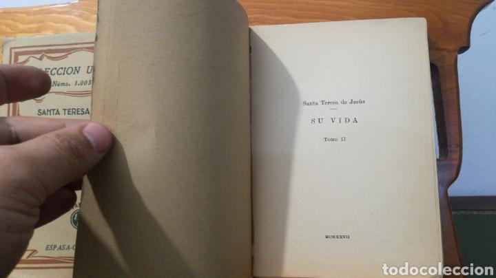 Libros antiguos: SANTA TERESA DE JESUS ~ COLECCION UNIVERSAL ~ ESPASA CALPE - TOMOS 1 y 2 - Foto 7 - 288959798