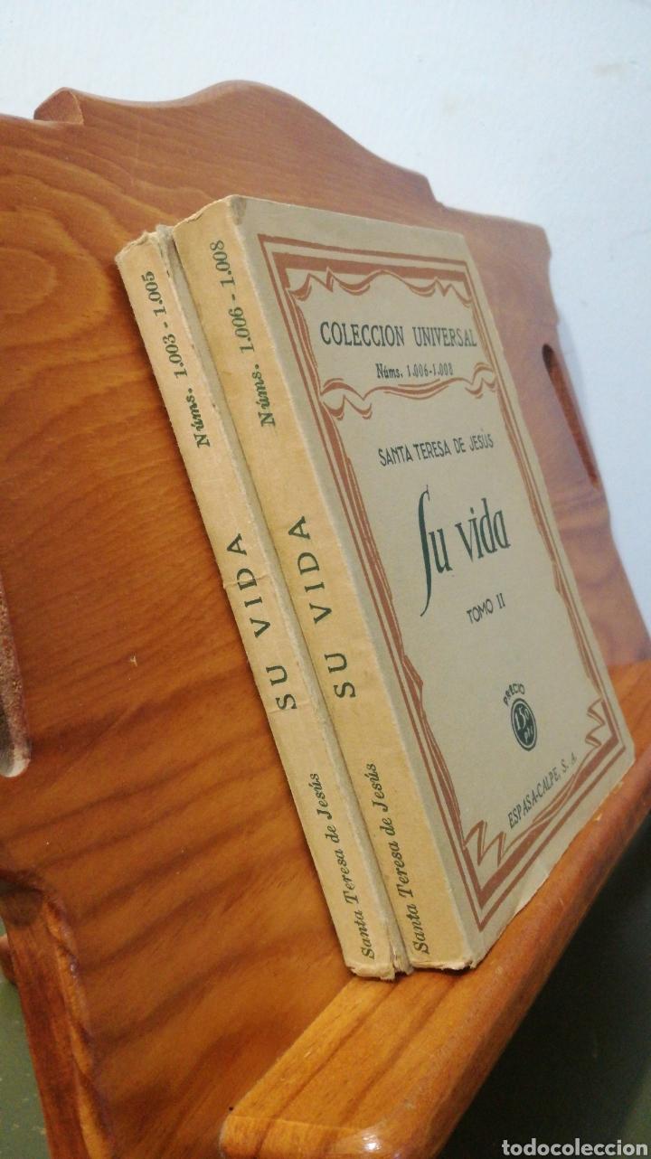 Libros antiguos: SANTA TERESA DE JESUS ~ COLECCION UNIVERSAL ~ ESPASA CALPE - TOMOS 1 y 2 - Foto 9 - 288959798