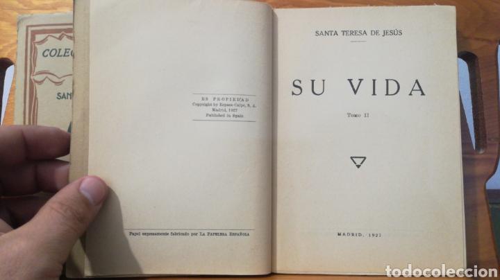 Libros antiguos: SANTA TERESA DE JESUS ~ COLECCION UNIVERSAL ~ ESPASA CALPE - TOMOS 1 y 2 - Foto 10 - 288959798