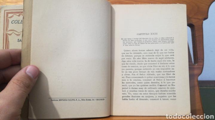 Libros antiguos: SANTA TERESA DE JESUS ~ COLECCION UNIVERSAL ~ ESPASA CALPE - TOMOS 1 y 2 - Foto 11 - 288959798