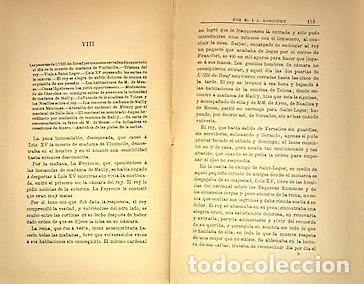 Libros antiguos: E. Y J. DE GONCOURT ... LAS FAVORITAS DE LUIS XV LA DUQUESA DE CHATEAUROUX Y SUS HERMANAS 1900 - Foto 3 - 289340078