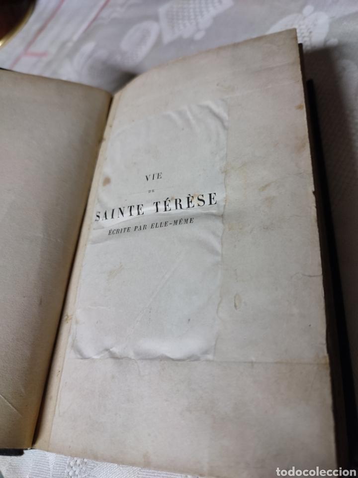 Libros antiguos: Vie de Sainte Terese Ecrit par elle meme 1880 - Foto 4 - 289616608