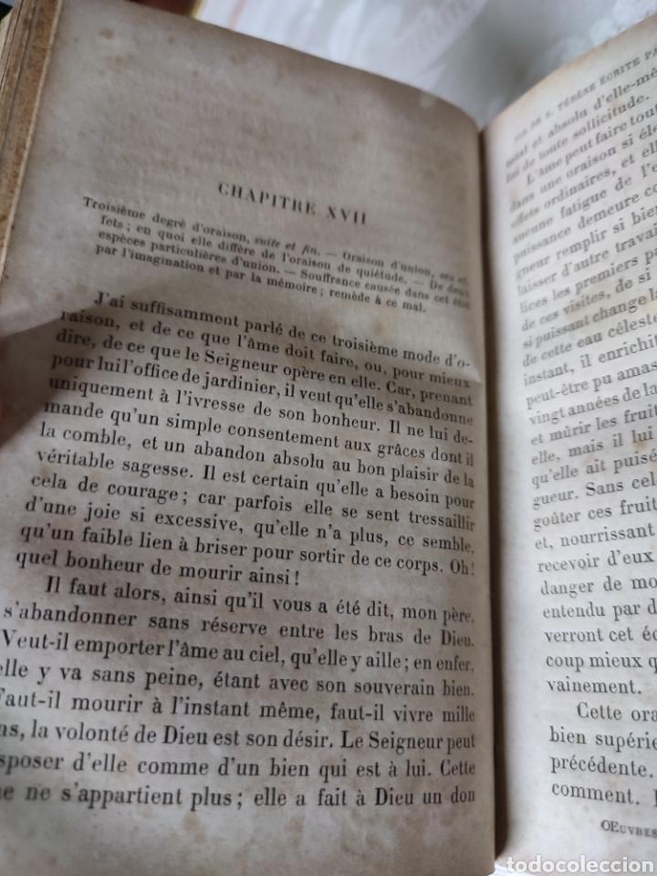Libros antiguos: Vie de Sainte Terese Ecrit par elle meme 1880 - Foto 6 - 289616608
