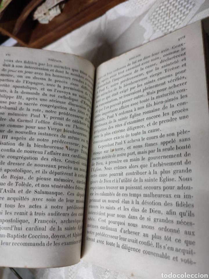 Libros antiguos: Vie de Sainte Terese Ecrit par elle meme 1880 - Foto 9 - 289616608