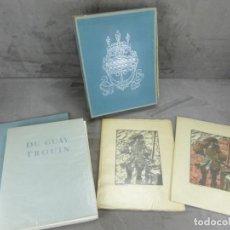 Libros antiguos: CORSAIRES - ILLUSTRÉ PAR GUY ARNOUX - COFFRET. Lote 295637358