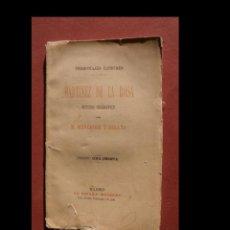Libros antiguos: MARTINES DE LA ROSA. ESTUDIO BIOGRÁFICO. R. MENÉNDEZ PELAYO. Lote 296854433