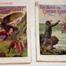 Libros antiguos: VERNE, JULIO LOS HIJOS DEL CAPITAN GRANT. Lote 14029383