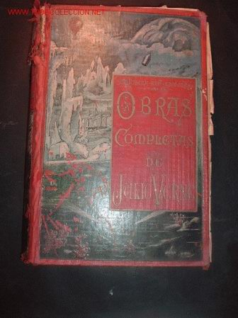 TOMO 8 -OBRAS COMPLETAS DE JULIO VERNE,VERSION ESPAÑOLA (Libros antiguos (hasta 1936), raros y curiosos - Literatura - Narrativa - Ciencia Ficción y Fantasía)