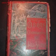 Libros antiguos: TOMO 8 -OBRAS COMPLETAS DE JULIO VERNE,VERSION ESPAÑOLA. Lote 24723377