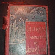 Libros antiguos: TOMO 13 -OBRAS COMPLETAS DE JULIO VERNE,VERSION ESPAÑOLA ,EDICION ILUSTRADA CON GRABADOS. Lote 24723376