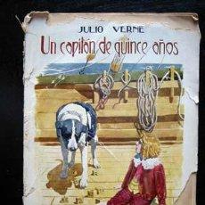 Libros antiguos: UN CAPITÁN DE QUINCE AÑOS - JULIO VERNE. Lote 4702717