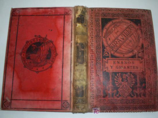 ENANOS Y GIGANTES EDUARDO GARNIER BIBLIOTECA DE MARAVILLAS AÑO 1886 RM41166-V (Libros antiguos (hasta 1936), raros y curiosos - Literatura - Narrativa - Ciencia Ficción y Fantasía)