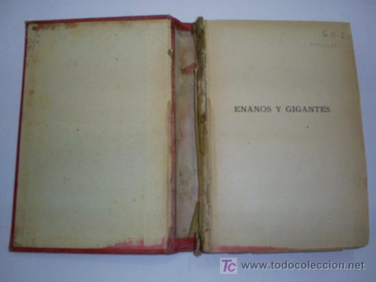 Libros antiguos: Enanos y Gigantes EDUARDO GARNIER Biblioteca de Maravillas Año 1886 RM41166-V - Foto 2 - 26714635
