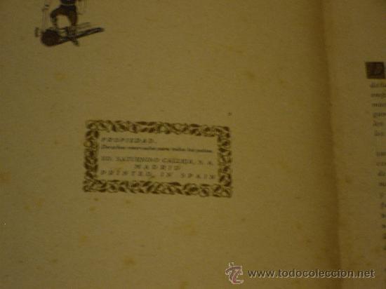 Libros antiguos: ROBINSON CRUSOE, EDITORIAL SATURNINO CALLEJA S.A. - Foto 3 - 28526913