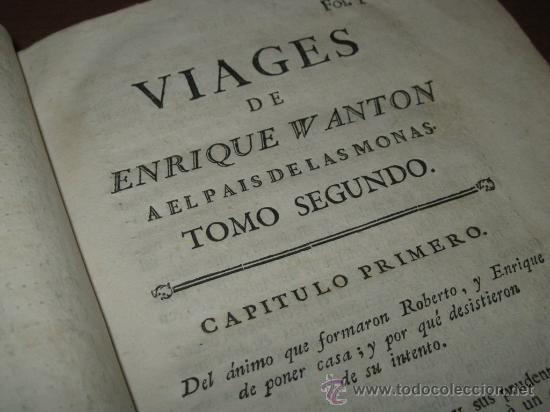 Libros antiguos: Viages de Enrique Wanton, 1781 y 1778. 3 Tomos. Contiene 11 grabados - Foto 28 - 29554068