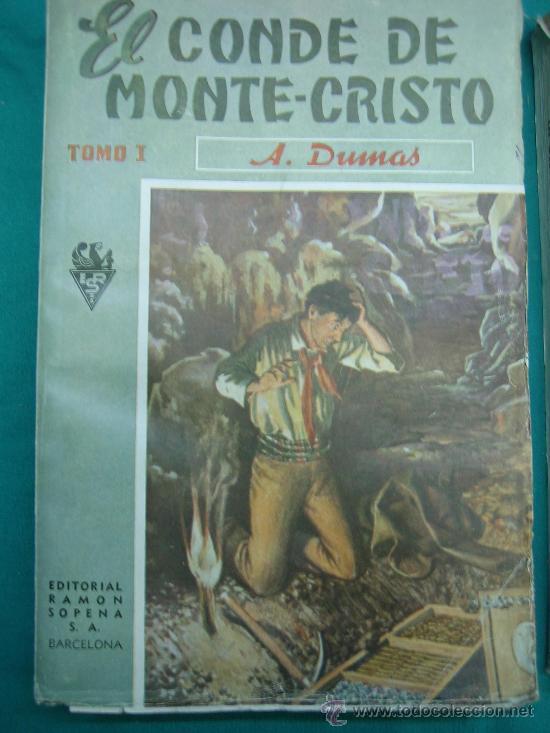 Libros antiguos: El Conde de Montecristo - Foto 2 - 30198002