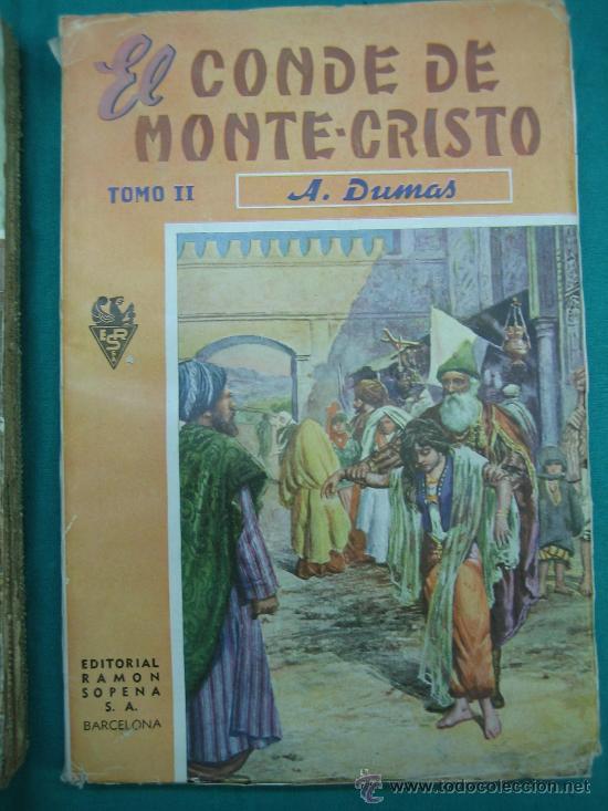 Libros antiguos: El Conde de Montecristo - Foto 3 - 30198002