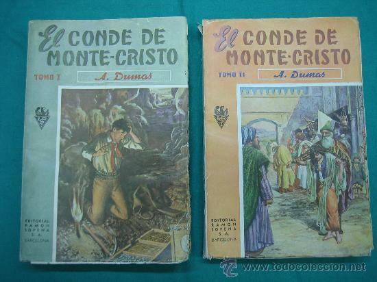 EL CONDE DE MONTECRISTO (Libros antiguos (hasta 1936), raros y curiosos - Literatura - Narrativa - Ciencia Ficción y Fantasía)