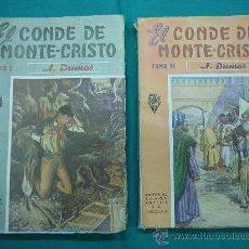 Libros antiguos: EL CONDE DE MONTECRISTO. Lote 30198002