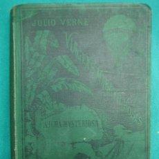 Libros antiguos: JULIO VERNE. A ILHA MYSTERIOSA 2ª PARTE 1887. Lote 30198581
