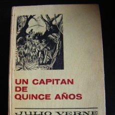 Libros antiguos: UN CAPITAN DE QUINCE AÑOS. JULIO VERNE. SERIE JULIO VERNE 6. BARCELONA 1967.. Lote 31792003