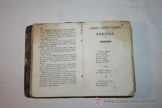 Libros antiguos: 0903 - HISTORIA SAGRADA PROVERBIOS Ó PARABOLAS FÁBULAS DE FELIX MARIA DE SAMANIEGO. - Foto 6 - 91795304