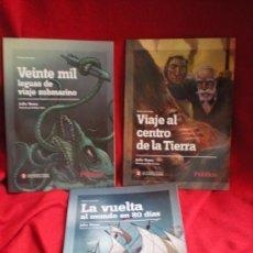 Libros antiguos: LOTE DE 3 COMIC DE JULIO VERNE. Lote 32105049