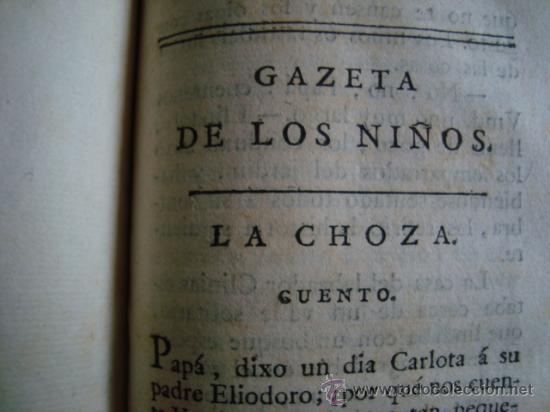 1978. PRIMERA EDICION DE LA GAZETA DE LOS NIÑOS.IMPRENTA DE SANCHA.CAPITULOS IV,V, VI VII. (Libros antiguos (hasta 1936), raros y curiosos - Literatura - Narrativa - Ciencia Ficción y Fantasía)