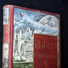 Libros antiguos: 1880C JULIO VERNE - OBRAS COMPLETAS - TOMO 6 - ORIGINAL - OBRA MUY BUSCADA !!. Lote 33397070