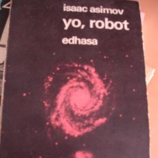 Libros antiguos: EDHASA NEBULAE CIENCIA FICCION YO ROBOT ISAAC ASIMOV. Lote 33568348