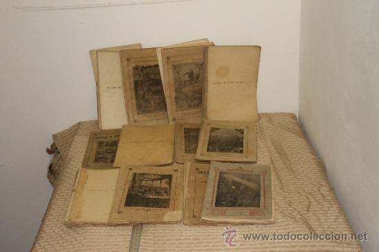 1775- BONITO LOTE DE 14 NOVELAS DE JULIO VERNE S/F. EDIT. SAENZ DE JUBERA. MADRID. (Libros antiguos (hasta 1936), raros y curiosos - Literatura - Narrativa - Ciencia Ficción y Fantasía)