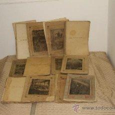 Libros antiguos: 1775- BONITO LOTE DE 14 NOVELAS DE JULIO VERNE S/F. EDIT. SAENZ DE JUBERA. MADRID.. Lote 34303702