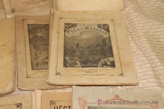 Libros antiguos: 1775- BONITO LOTE DE 14 NOVELAS DE JULIO VERNE S/F. EDIT. SAENZ DE JUBERA. MADRID. - Foto 5 - 34303702
