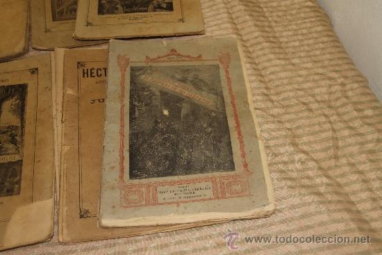 Libros antiguos: 1775- BONITO LOTE DE 14 NOVELAS DE JULIO VERNE S/F. EDIT. SAENZ DE JUBERA. MADRID. - Foto 6 - 34303702