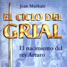 Libros antiguos: EL CICLO DEL GRIAL - EL NACIMIENTO DE ARTURO (MARTINEZ ROCA). Lote 215437286