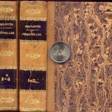 Libros antiguos: CERVANTES – NOUVELLES – 2 TOMOS – AÑO 1809. Lote 38304918