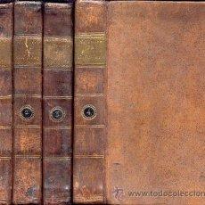 Libros antiguos: LE SAGE – HISTOIRE DE GIL BLAS DE SANTILLANE – 4 TOMOS - AÑO 1798. Lote 38367212