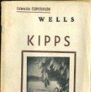 Libros antiguos: WELLS : KIPPS (ESMERALDA, 1935). Lote 38568903