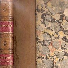 Libros antiguos: TRABAJOS DE PERSILES Y SIGISMUNDA – AÑO 1880. Lote 38574964