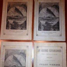 Libros antiguos: 16 NOVELAS JULIO VERNE DE 1893 SAENZ DE JUBERA. Lote 42248571