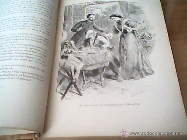 Libros antiguos: UN MUNDO DESCONOCIDO DOS AÑOS EN LA LUNA PIERRE DE SELENES - Foto 3 - 43528504