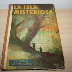 Libros antiguos: LA ISLA MISTERIOSA DE JULIO VERNE EDITORIAL SAENZ DE JUBERA. Lote 46315578