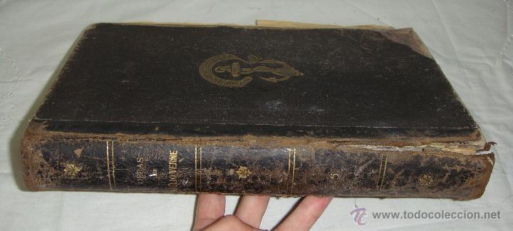 OBRAS DE JULIO VERNE. CON 7 OBRAS. COMPAÑÍA TRASATLÁNTICA. (Libros antiguos (hasta 1936), raros y curiosos - Literatura - Narrativa - Ciencia Ficción y Fantasía)
