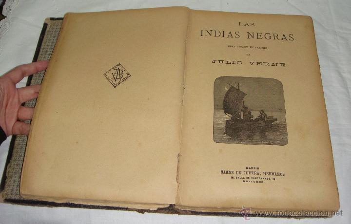 Libros antiguos: Obras de Julio Verne. Con 7 obras. Compañía Trasatlántica. - Foto 4 - 46916577