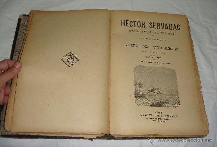 Libros antiguos: Obras de Julio Verne. Con 7 obras. Compañía Trasatlántica. - Foto 5 - 46916577